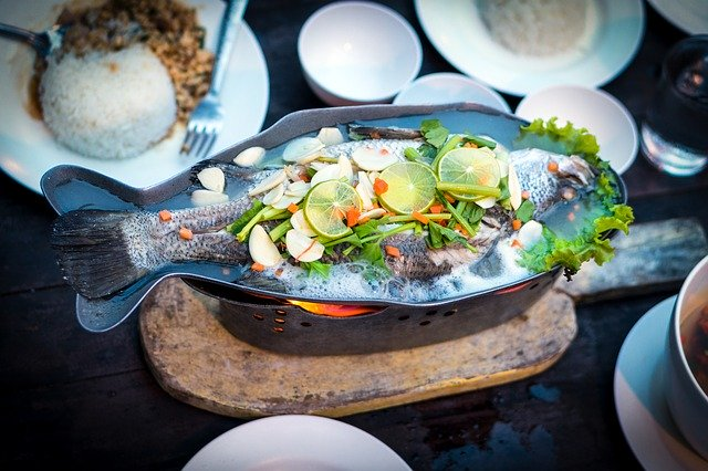 fish cooked in thailand