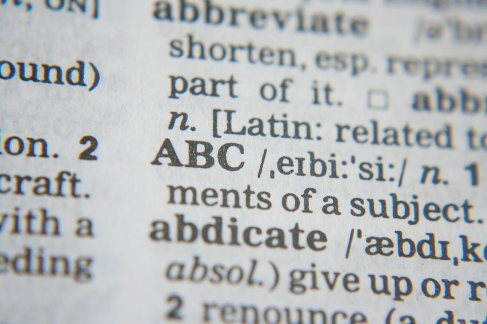 esl vocabulary: abc