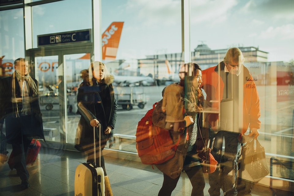 teaching english in korea: airport arrival